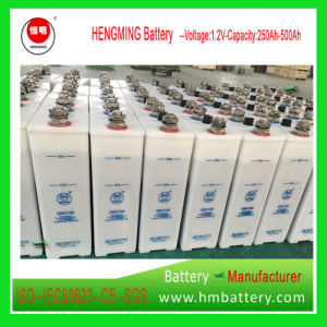 Hengming NiCd Battery Kpx150/Gnc150 1.2V 150ah Kpx Series/Ultra High Rate/Alkaline Rechargeable Battery and Sintered Plate Battery for Engine Starting pictures & photos