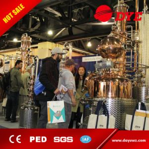 Whiskey, Vodka, Brandy Distiller Copper Alcohol Distilling Equipment for Sale pictures & photos