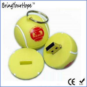 Tennis Ball PVC USB Flash Disk (XH-USB-158) pictures & photos