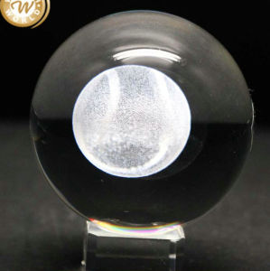 100mm Ball 3D Laser Engraved Crystal for Engraving pictures & photos