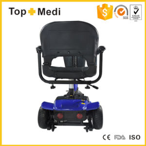 4 Wheel Medical Disabled Power Foldable Electric Easy Move Mobility Scooter for Adults pictures & photos
