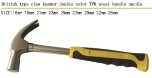 British Type Claw Hammer Steel Handle pictures & photos