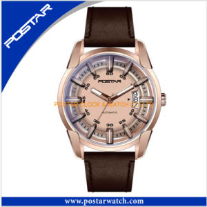 Latest Developed Golden Swiss Quality Watch Automatic Watch pictures & photos