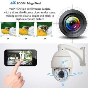 960p 4X Zoom CCTV Security Onvif P2p PTZ Infared IP Camera pictures & photos