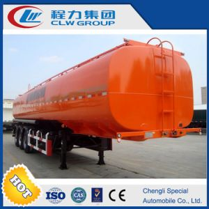 New Design 30-60cbm Cheap Fuel Transport Trailer with ABS pictures & photos
