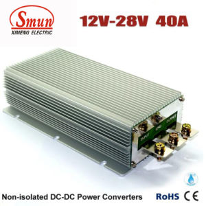 12volt to 28volt 40AMP DC to DC Voltage Converter pictures & photos