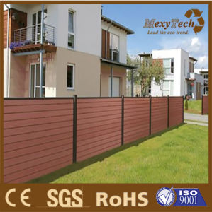 Foshan Garden Fence New Design WPC Wall Panels Small Fence Panel for Garden pictures & photos