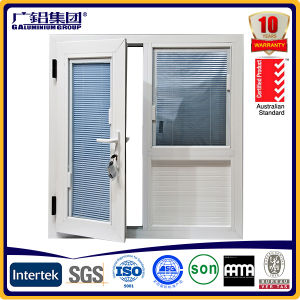 Aluminum Alloy Frame Material and Fixed Type Aluminium Glass Louver Window pictures & photos