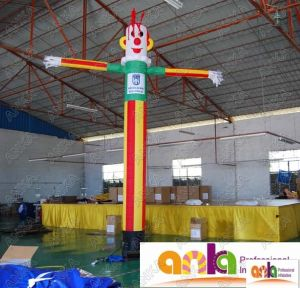 Inflatable Chief Air Dancer Sky Man Single Leg with Your Logo pictures & photos