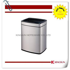 Anti Finger Print Dustbin with Plastic Inner Bin pictures & photos