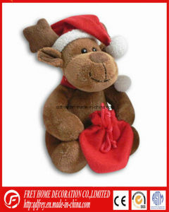 China Manufacture for Plush Christmas Deer Toy pictures & photos