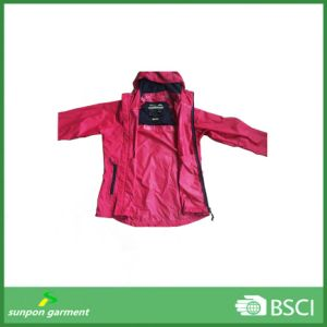 New Reflective Logo Printed PVC&PU Nylon Raincoat pictures & photos