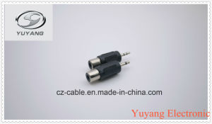 2.5mm Stereo Plug to RCA Jack pictures & photos