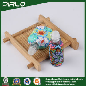 5ml Polymer Clay Plating Glass Bottle with Shiny Aluminum Lid pictures & photos