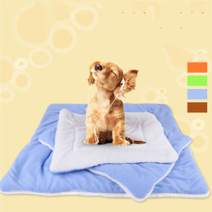 Luxury Dog Cotton Coral Fleece Mattress Pet Pads Cushions pictures & photos