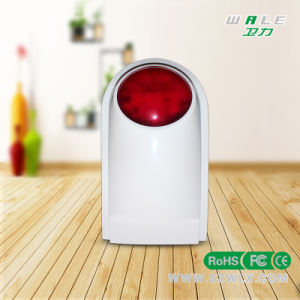 Wireless Dual Network Alarm System with Wireless Strobe Siren pictures & photos