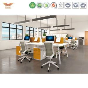 Fsc Certified Approved by SGS 2017 Modern Computer Table Office Furniture for Green Office Screen U Shape Workstation System Combination Partition pictures & photos