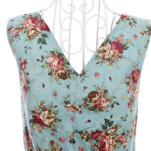 Designer One Piece Vintage Linen Dress 1950s Women Plus Size pictures & photos