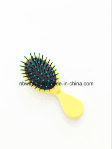 Double Side Mini Plastic Professional Hair Brush pictures & photos