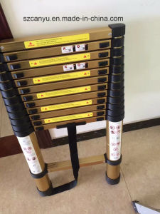 Aluminium Telescopic Ladder Lsx-Tl380 Wholesale and Retail pictures & photos