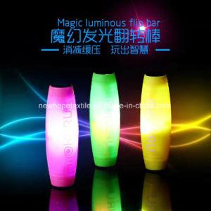 LED Light Magic Luminous Flip Bar Hand Fidget Spinner Glowing Tri Spinner Fidget pictures & photos