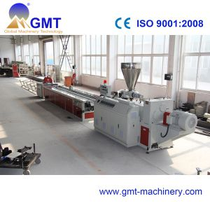 PVC WPC Profile Wide Window Plastic Product Extruder Making Machinery pictures & photos