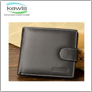 Hot Selling Popular Genuine Leather Men Wallet pictures & photos
