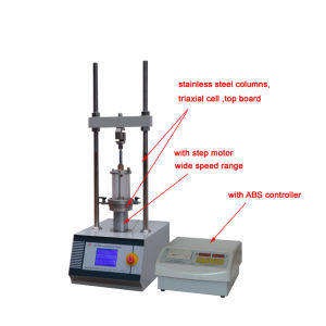 Full Automatic Triaxial Testing Machine pictures & photos