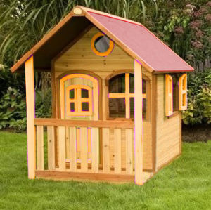 New Design Wooden Playhouse for Children Home Outdoor Toy pictures & photos