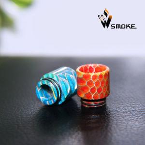 2017 Vivismoke Epoxy Tfv8 Resin Drip Tip Honeycomb Drip Tip Hive Resin Drip Tip