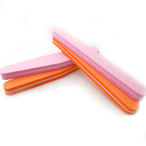 Promotional Gifts 100/180 EVA Nail Sanding File Disposable with Logo Offering Free Sample pictures & photos