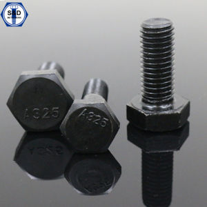 Half Threaded/Full Threaded Heavy Hex Bolts A325 High Tensile Bolts pictures & photos