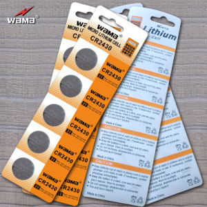 Lithium Button Cell Battery Cr2430 pictures & photos