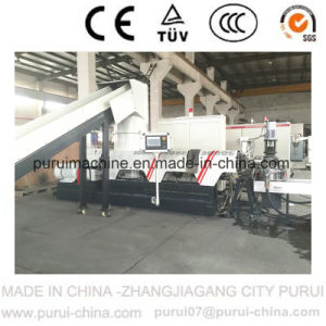 Plastic Recycling Machine for Recycling PP Woven Bag with PLC Touch Screen pictures & photos