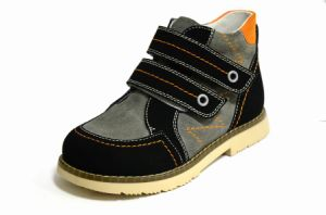 Child Leather Corrective Shoes Kids Stability Shoes pictures & photos