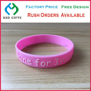 Personalized Sport Company Logo Giveaway Silicone Bracelets, Fashion Jewelry pictures & photos