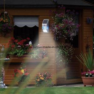 LED Solar PIR Sensor Light Outdoor for Garden Fence Light pictures & photos