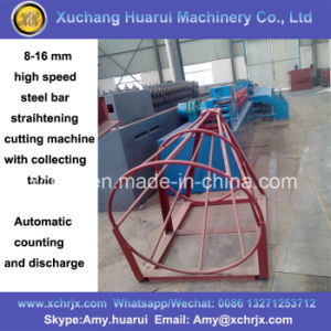 8-16mm High Speed Steel Bar Straightening and Cutting Machine pictures & photos