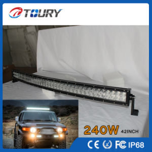 Epistar CREE 240W 42 Inch IP68 Auto Car LED Light Bar pictures & photos