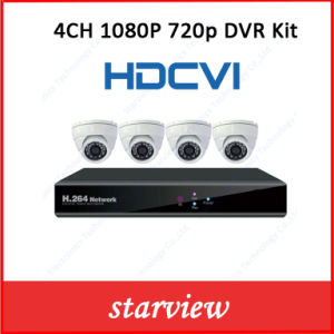 1080P/720p Hdcvi IR CCTV Cameras Suppliers Security Camera with 8CH DVR Kit pictures & photos