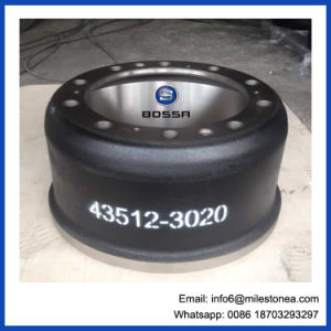 Auto Spare Part Brake Drum Apply to Agriculturer 43512-3020 pictures & photos
