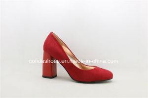 New Design High Heels Fashion Lady Shoes pictures & photos