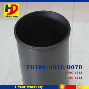 Diesel Engine Spare Parts Eh700 H07c H07D for Hino Cylinder Liner (11467-1210) pictures & photos