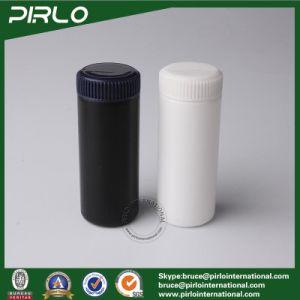 60ml Plastic Talcum Powder Jars Pure Black Bucket Shape Powder Bottles pictures & photos