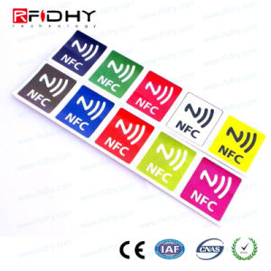 MIFARE Plus EV1 MIFARE NFC RFID Tag for Advertising pictures & photos