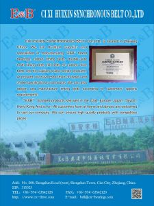 Black Rubber Timing Belt From Cixi Factory China pictures & photos