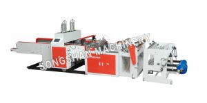 Ks-900d High Speed Double Line Automatic T-Shirt Bag Making Machine pictures & photos