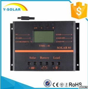 80A 12V/24V LCD Solar Panel Charge/Controller for Battery Charger S80 pictures & photos