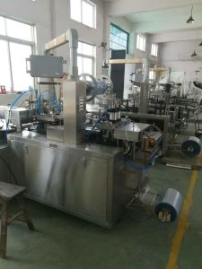 PVC-Paper Blister Packing Machine with Deck Table pictures & photos
