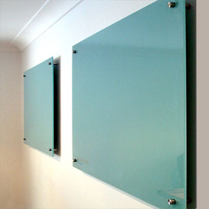 Tempered Glass Red Writing Board pictures & photos